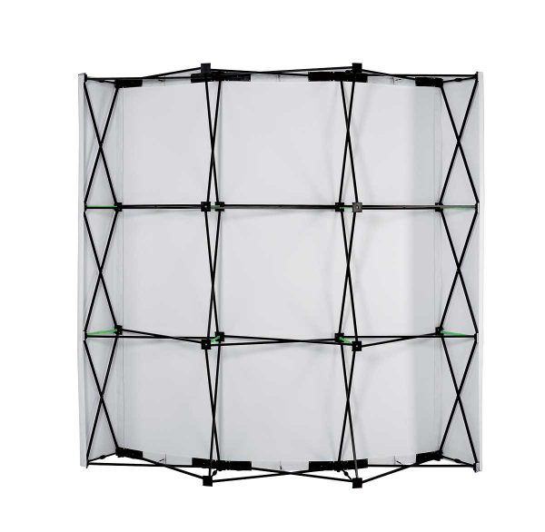 stand parapluie courbe 3x3